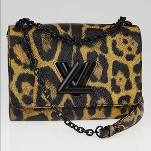 🔥TWIST🔥LEOPARD ANIMAL PRINT LOUIS VUITTON